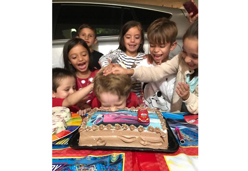 ¡Feliz cumpleaños Nicolás!