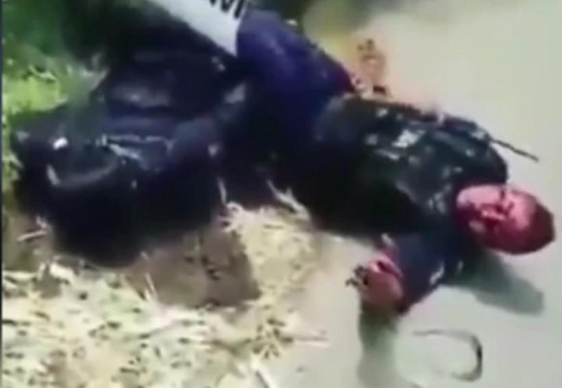 Video: Policías chocaron y los testigos del accidente se burlaron y no los ayudaron | El Imparcial de Oaxaca