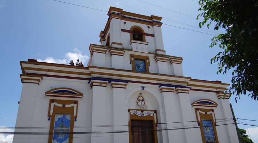Sigue reparación de templo de Jamiltepec, Oaxaca