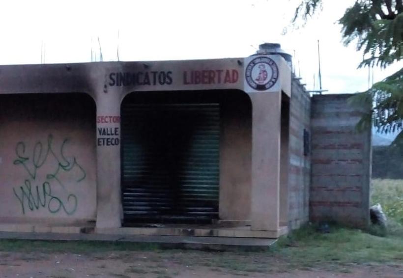 Prenden fuego a oficinas de  Sindicato Libertad | El Imparcial de Oaxaca