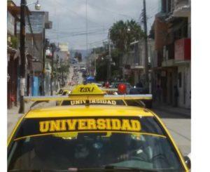 Incendian taxi y  golpean al chofer en Miahuatlán
