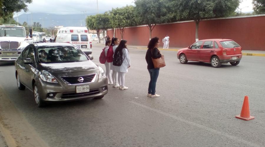 Trabajos de drenaje generan caos vial en la ciudad de Oaxaca