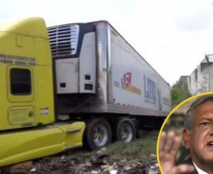 Cadáveres en tráileres de Jalisco, culpa del fraude electoral del 2006: AMLO