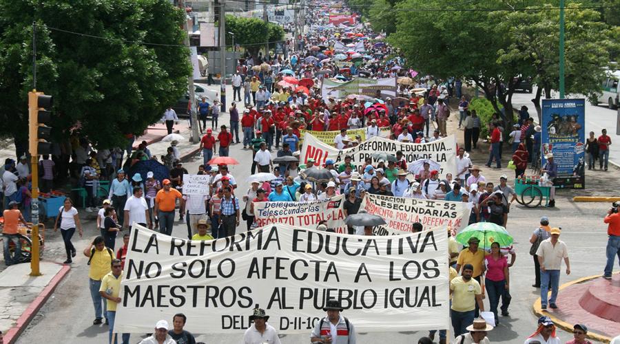 En Oaxaca, insiste Sección 22 en  abrogación de reforma | El Imparcial de Oaxaca