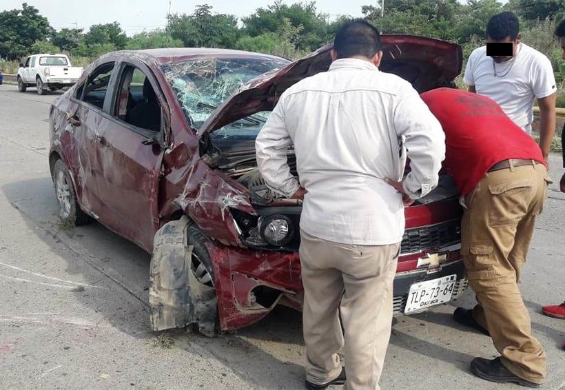 Aparatoso accidente en Salina Cruz, petrolero lesionado | El Imparcial de Oaxaca