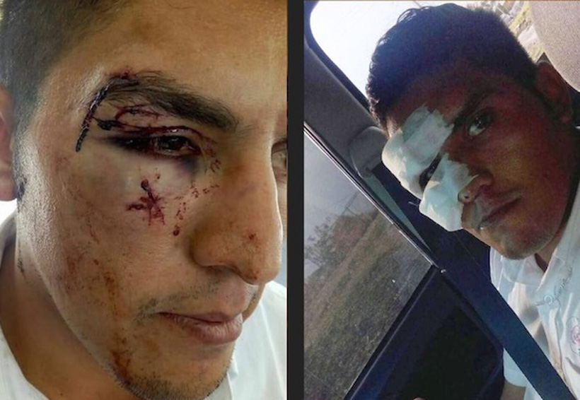 Video: Dueño de empresa golpea brutalmente a empleado | El Imparcial de Oaxaca
