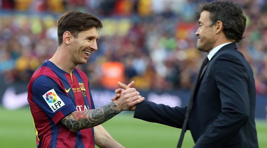Premio al mejor jugador del mundo se lo daría a Messi: Luis Enrique | El Imparcial de Oaxaca