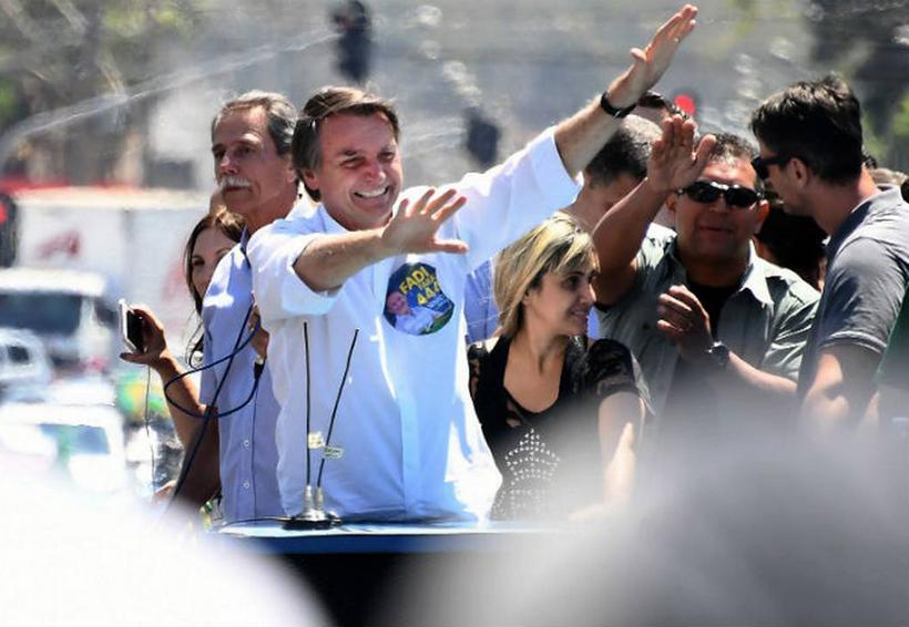 'Estoy bien y recuperándome', afirma candidato de la ultraderecha de Brasil que fue acuchillado   El Imparcial de Oaxaca