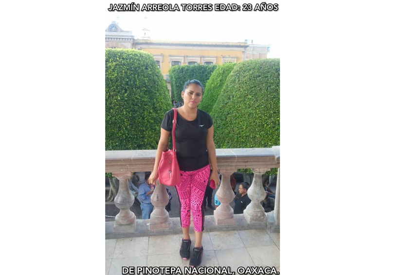 Sigue desaparecida Jazmín Arreola en Pinotepa Nacional