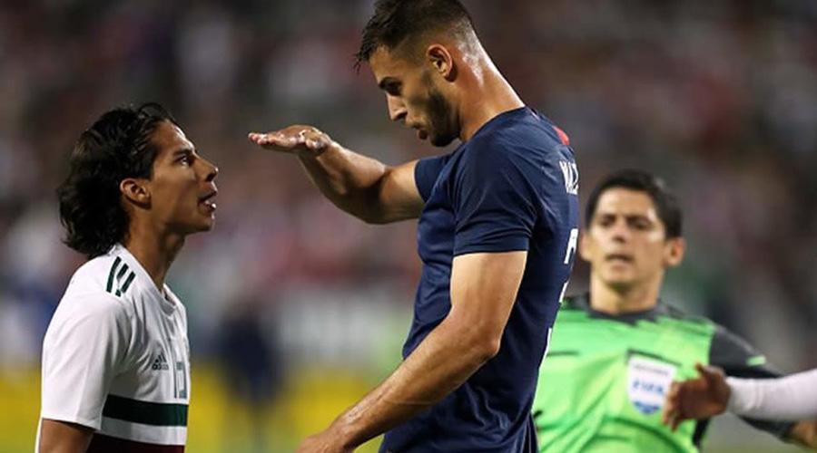 En amistoso, jugador estadounidense se burla de estatura de Diego Lainez | El Imparcial de Oaxaca
