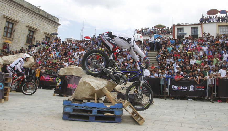 Impresionante, Moto Trial Up Oaxaca 2018