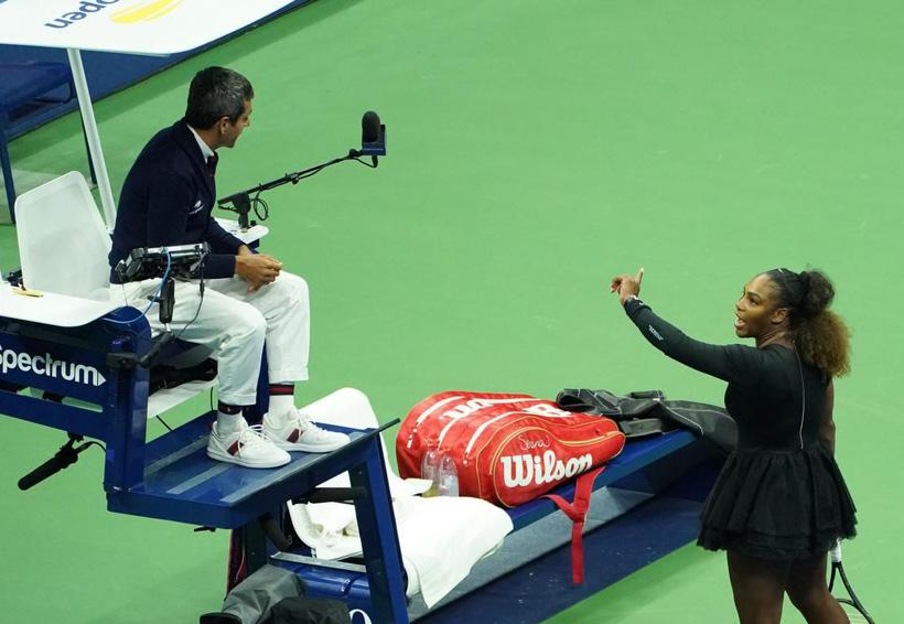 Multan a Serena Williams y pierde el US Open   El Imparcial de Oaxaca