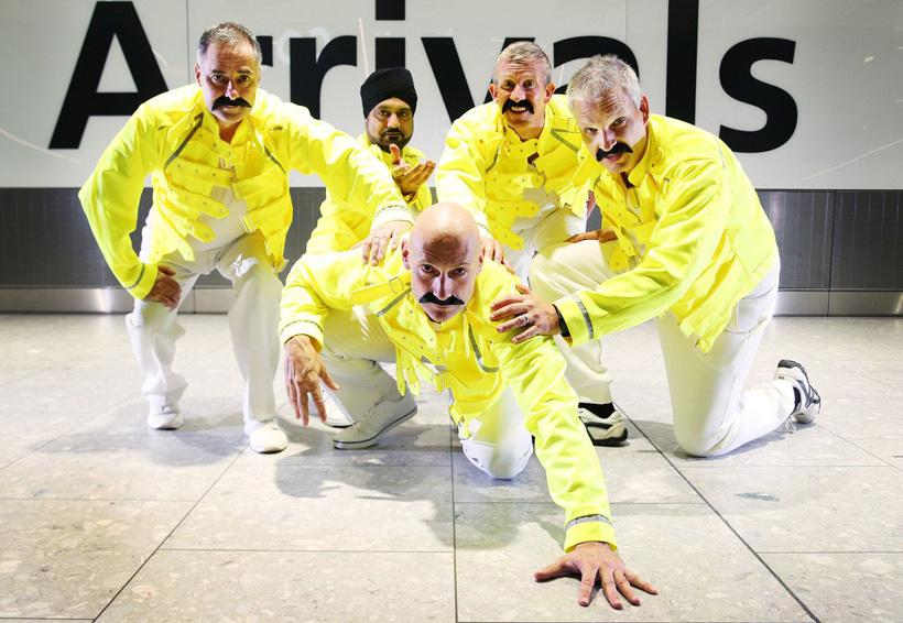 Rinden tributo a Freddie Mercury en aeropuerto londinense | El Imparcial de Oaxaca