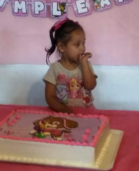 Feliz cumpleaños Ana Valeria