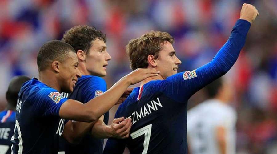 Francia condena a Alemania; Griezmann, el salvador. Noticias en tiempo real