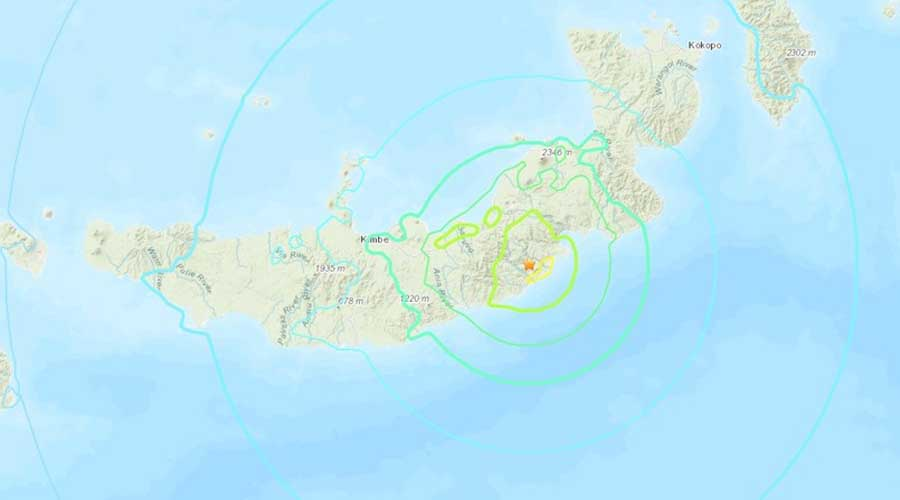 Un fuerte sismo de magnitud 7,0 sacude Papúa Nueva Guinea | El Imparcial de Oaxaca