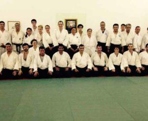 Productiva capacitación de aikido