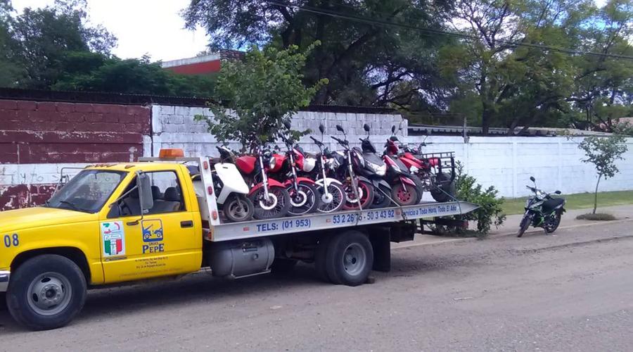 Aplican nueva ley de  transporte en Huajuapan de León, Oaxaca