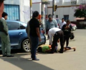 Detienen a un ladrón de celular en el Centro Histórico