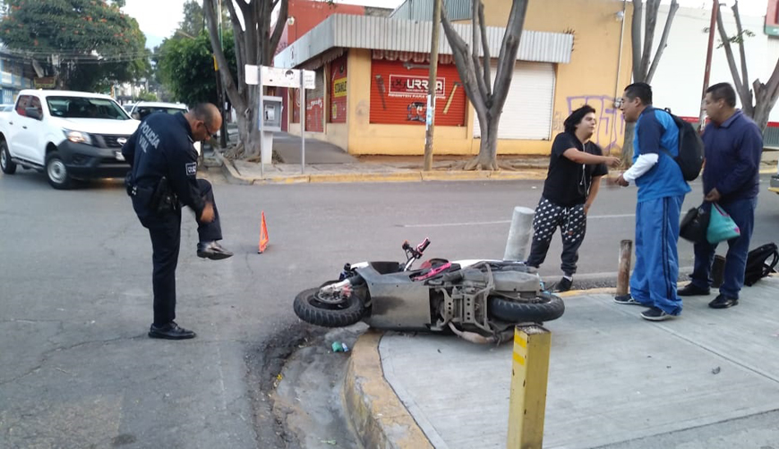 Peligro latente, viajar en motoclicleta en Oaxaca