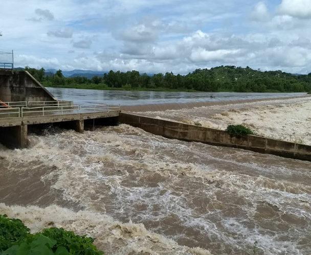 Costa Chica de Oaxaca afectada por la lluvia