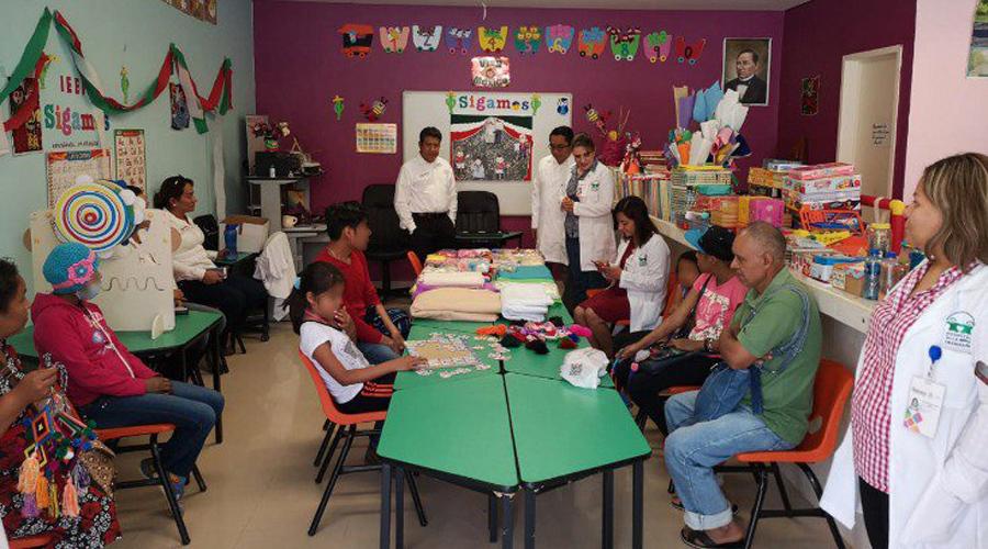 Lleva IEEPO servicios a escolares hospitalizados | El Imparcial de Oaxaca