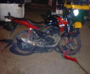 Se accidenta motociclista en Juchitán
