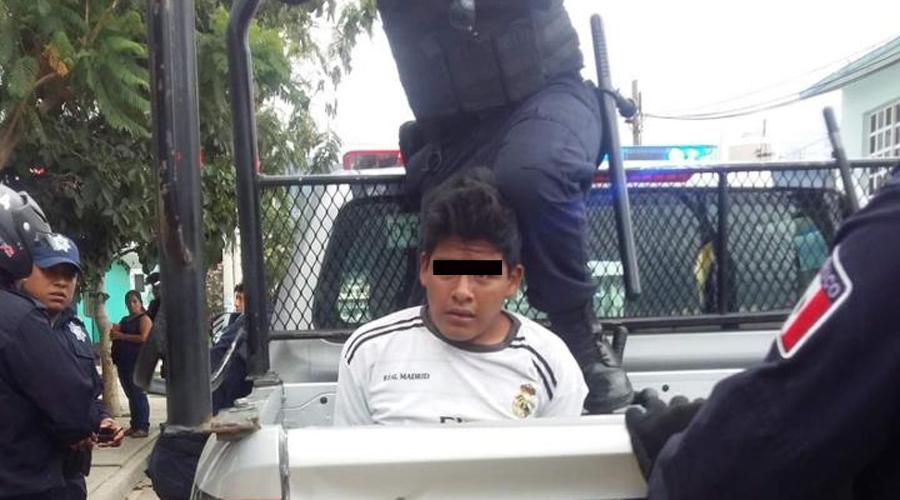 Detienen a presunto  ladrón de autopartes en San Antonio de la Cal