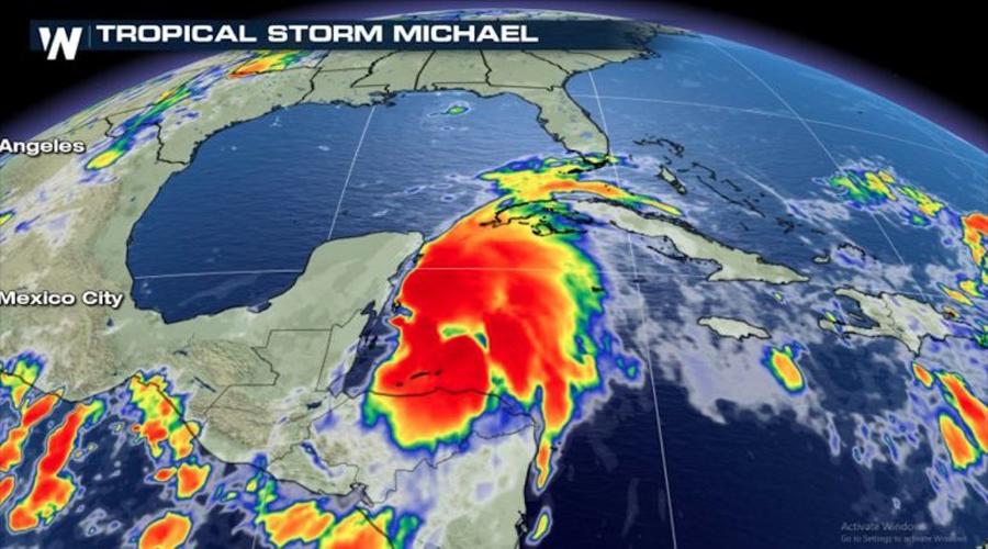 Michael ocasiona lluvias intensas en Oaxaca