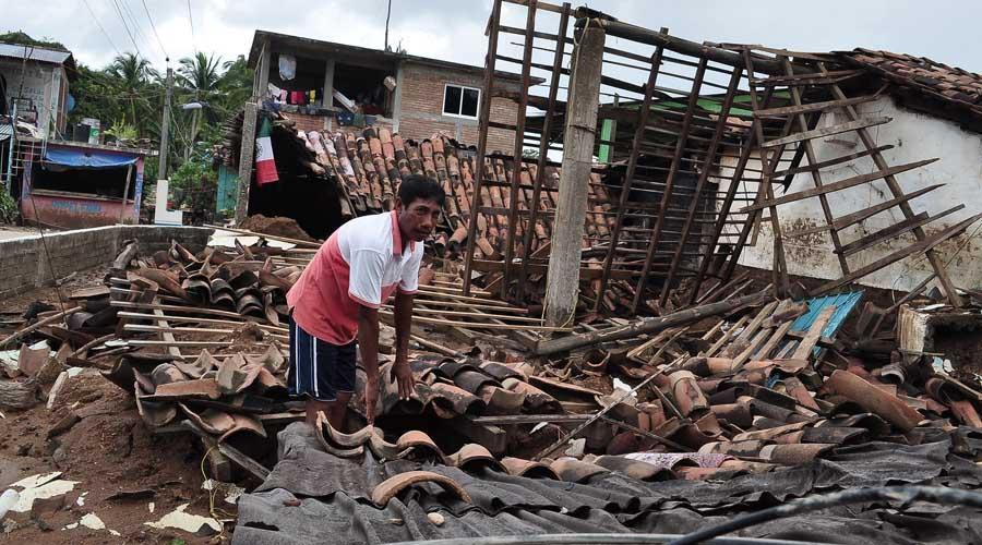La Costa recuerda los destrozos del huracán Paulina | El Imparcial de Oaxaca
