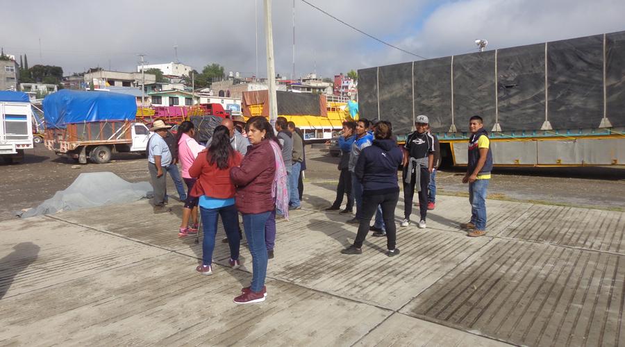 Luchan por su lugar los comerciantes de Tlaxiaco