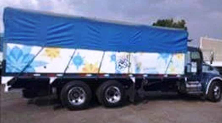 En la Mixteca roban camión de empresa de jabones