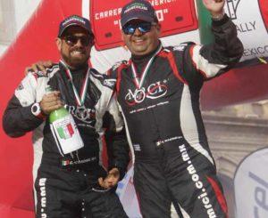 Triunfan oaxaqueños en la Carrera Panamericana