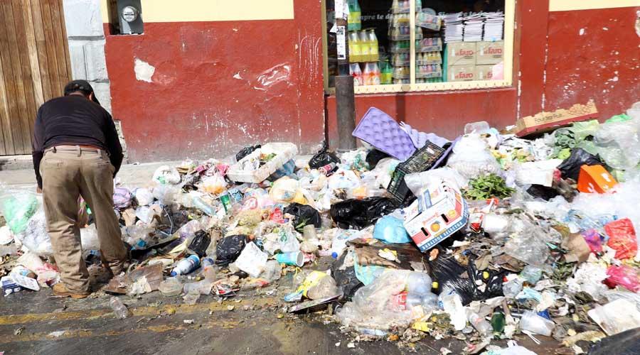 Paciencia piden a ciudadanos de Oaxaca para no  sacar basura a calles. Noticias en tiempo real