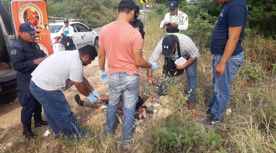 En Salina Cruz investigan muerte de un empleado