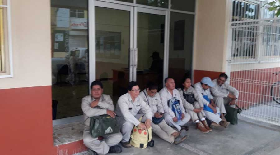 Toman Jurisdicción Sanitaria en Juchitán