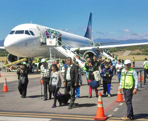 Hoy arranca nuevo vuelo de Tijuana a Huatulco