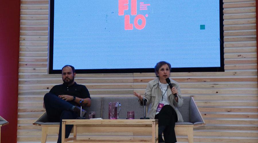Carmen Aristegui en la 38 FILO | El Imparcial de Oaxaca