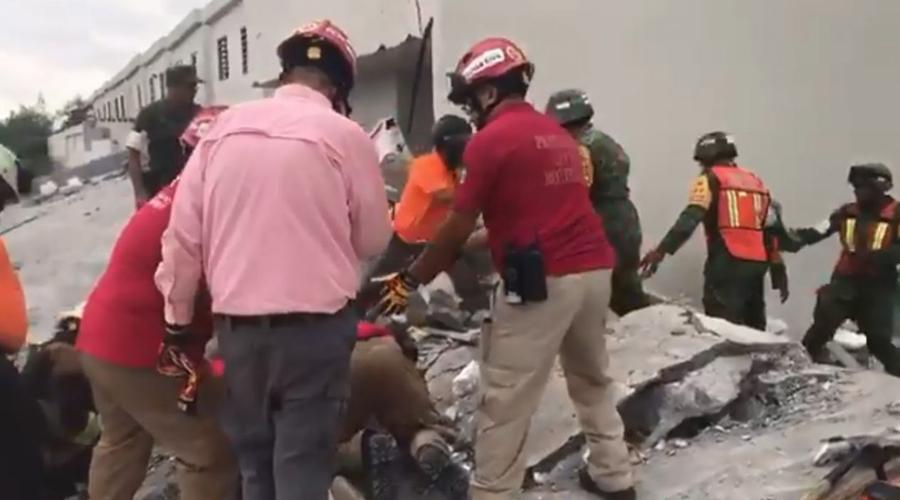 Colapsa edificio en Monterrey; al menos tres muertos y siete desaparecidos | El Imparcial de Oaxaca