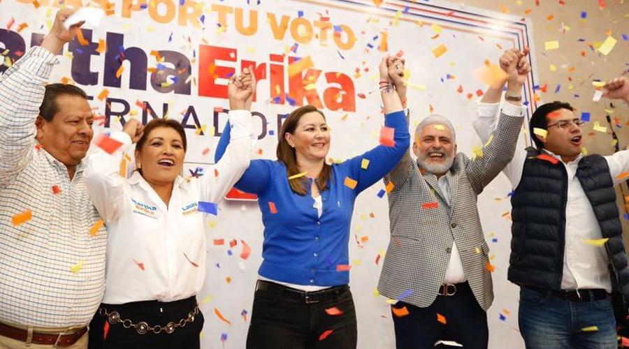 Video: Martha Érika da por concluido el proceso, celebra su triunfo y hasta ofrece trabajar con AMLO | El Imparcial de Oaxaca