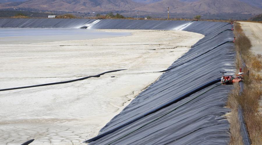 Presa de Jales de  la Minera Cuzcatlán  opera en óptimas  condiciones