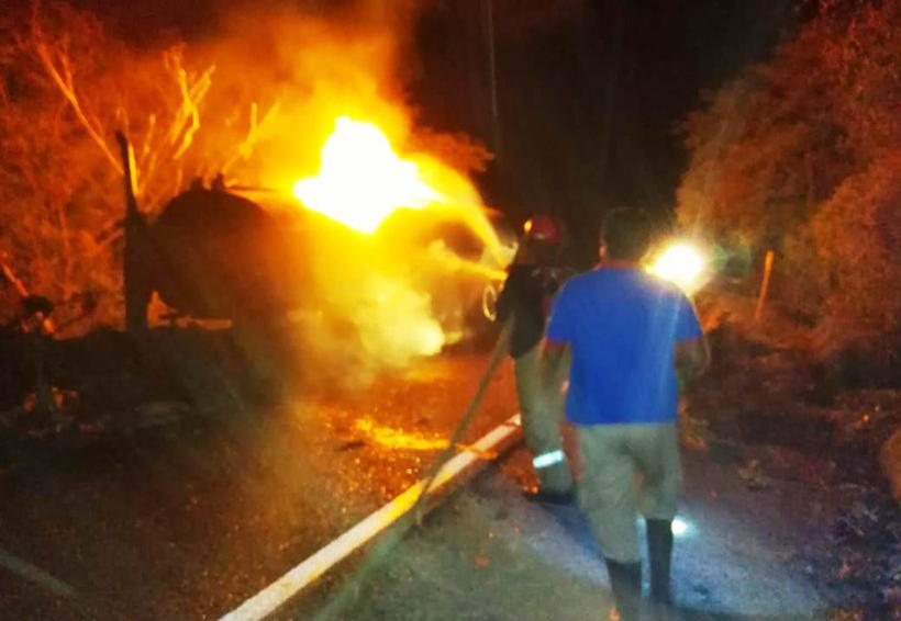 Se incendia autotanque en Tehuantepec | El Imparcial de Oaxaca