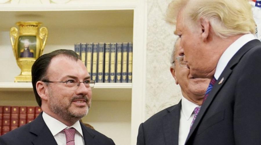 Luis Videgaray asume responsabilidad por invitar a Trump en 2016 | El Imparcial de Oaxaca