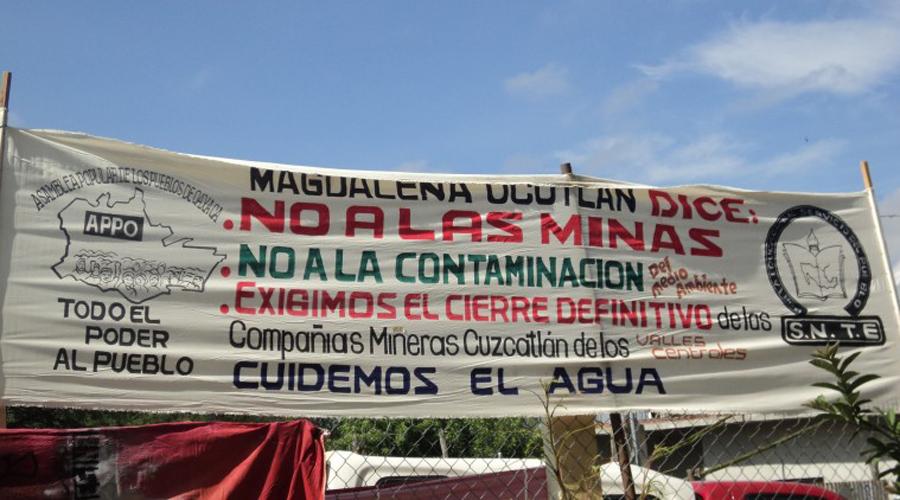 Pide DDHPO investigar posible  contaminación de Minera Cuzcatlán. Noticias en tiempo real