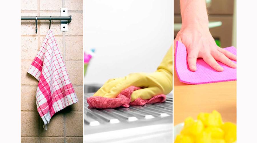Desinfecta los trapos de cocina con estos sencillos pasos | El Imparcial de Oaxaca