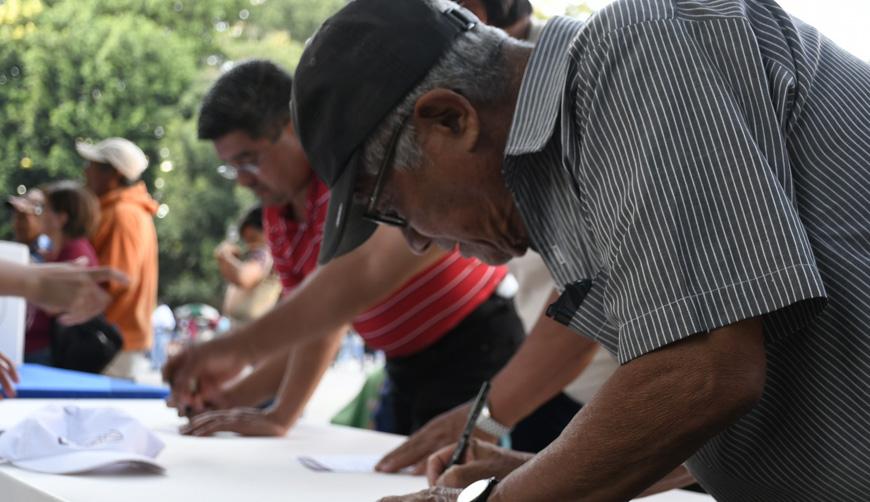 Alta afluencia en Oaxaca para participar en la II Consulta Ciudadana | El Imparcial de Oaxaca
