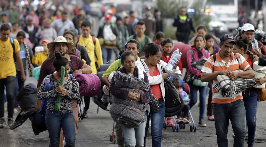 Caravana analiza oferta para trabajar en México | El Imparcial de Oaxaca