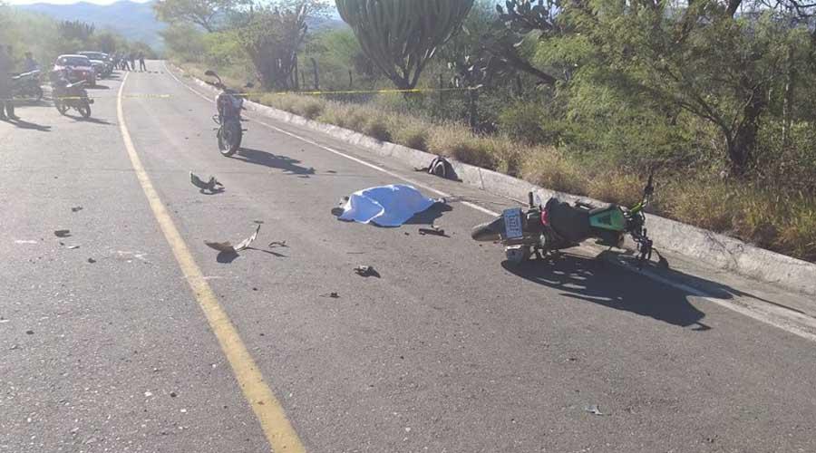 Accidente vial en Teotitlán de Flores Magón deja como saldo dos muertos | El Imparcial de Oaxaca