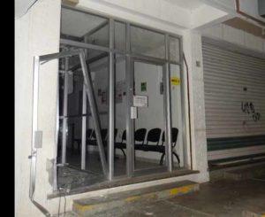 Roban sujetos armados cajero en banco de Juchitán