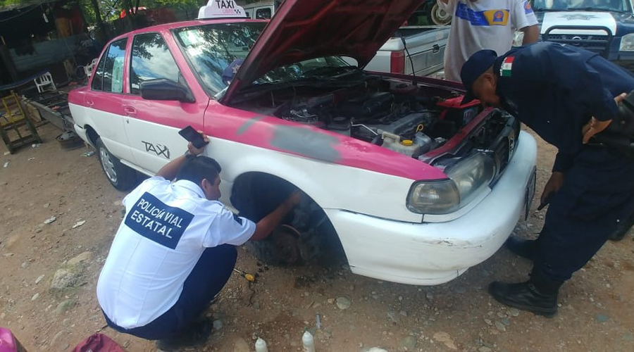 Aseguran vehículo  con reporte de robo en Cuicatlán | El Imparcial de Oaxaca